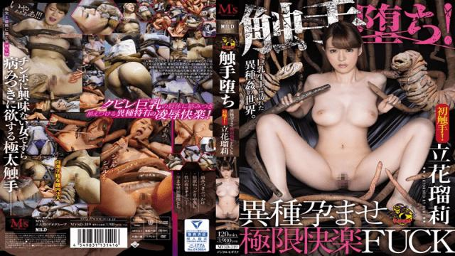 M video Group MVSD-319 Naruri Tachiba Corrupted By Tentacles! Impregnated By Alien Seed & Ready To Burst Ruri Tachibana - Ms Video Group