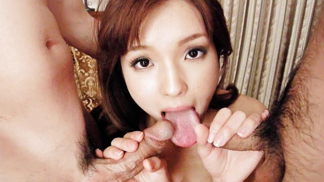 This hot threesome with Mei Haruka will get you jerking off - JavHD