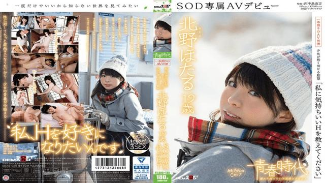 SDAB-028 Hotaru Kitano Please Teach Me The Pleasures Of Sex Hotaru Kitano, Age 19 An SOD Exclusive AV Debut-SOD Create