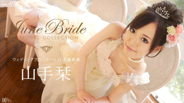1Pondo 060714_823 Yamate bookmark - Model Collection June Bride Jav Uncen