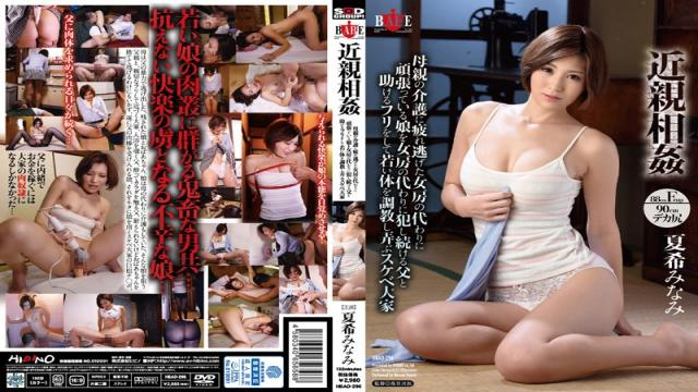 HBAD-296 - It Trains The Young Body By Pretending To Help The Father To Continue Committing A Daughter Who Is Working Hard On Behalf Of The Wife Fled Tired To Care Of Incest Mother Instead Of Wife Games, Play Lewd Natsuki Landlord South - Hibino