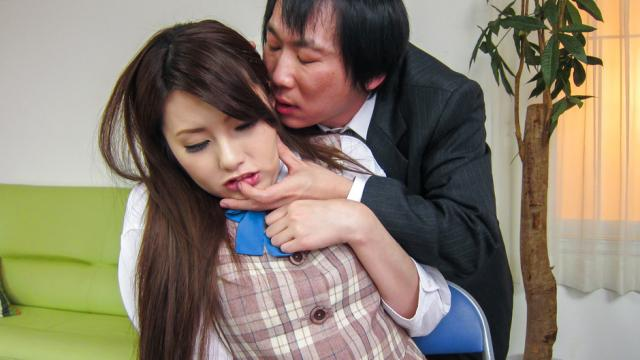 Young Runa Ayase in perfect Asian blow job event - JavHD