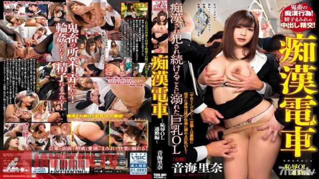 TEEK-001 Studio AVS collector's - Molester Train Shamed Commuting Office Lady A Big Titty Office Lady Loses It After Being Endlessly Groped And Raped Rina Otomi