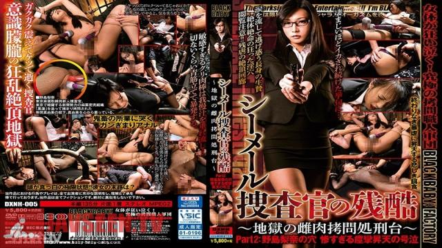 DXNH-005 Studio BabyEntertainment - Treating A Shemale Investigator With Cruelty ~The Hellish Female Torture Stand~ Part 2: The Hole Of Rina Nojima. The Tragic, Convulsive, Wailing Orgasms