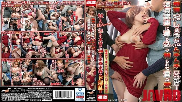 NHDTB-402 Studio natural high - A perverted woman who is pleased to get in touched by a crowded train with a whip one piece that can not be helped