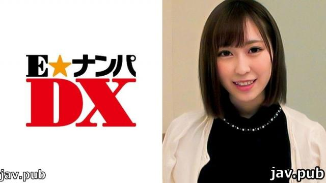 E ? Nampa DX 285ENDX-307 Sena-san, 20 years old I like cowgirl with fair-skinned shaved pussy! Female college student Amateur